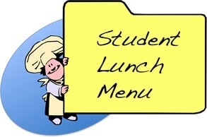 student lunch menu